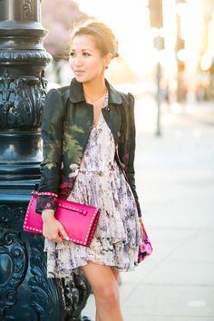 Pretty Florals :: Silk jacket