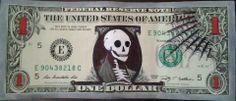 Nothing says 'death' like money.