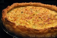 Cook French with Me : Onions and Leeks Pie