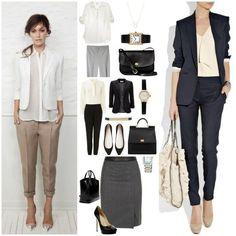 Business Mode für Damen Business fashion for ladies Business Fashion, Corporate Fashion, Office Fashion, Work Fashion, Business Women, Business Style, Trajes Business Casual, Business Casual Outfits, Business Dresses