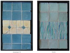 Handmade tile composition #9 - gvega