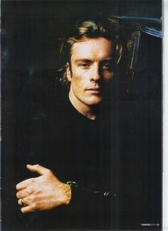Maggie Smith's son TOBY STEPHENS - always happy when he shows up in a period drama!
