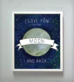 inspiration quotes for boys, moon print, idea, love my boys quotes, art, for my boys, inspirational quotes for boys, babi, kid