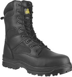 Amblers FS009C Hi-Leg Safety Boots Black Size 8 Hi-leg safety boot with composite toe cap, midsole protection and dual density PU sole. Superb traction passing SRC slip resistance tests. Energy absorbent and anti-static. Leather and breathable mesh http://www.comparestoreprices.co.uk/january-2017-9/amblers-fs009c-hi-leg-safety-boots-black-size-8.asp