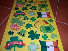St. Patrick's Day Stickers 1 of 2