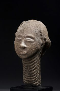 Akan Nsodia (Funerary Portrait Head), Twifo Hemang, Ghana http://www.imodara.com/post/105551331389/ghana-akan-nsodia-funerary-portrait-head