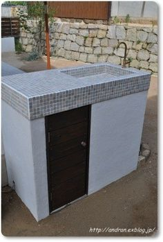 Garden Sink, Storage Bins, Outdoor Furniture, Outdoor Decor, Outdoor Storage, Outdoor Living, Decoration, Design, Home Decor