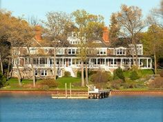 #23 MICHIGAN: An $18.9 million estate on historic Lake Macatawa with a horse barn and 10 acres of forest.