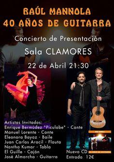RAUL MANNOLA 40 AÑOS DE GUITARRA Fundación Guitarra Flamenca. www.fundacionguitarraflamenca.com
