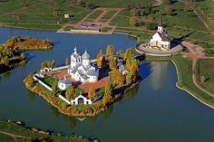 Три православные церкви в Парке Городов Героев, Санкт-Петербург