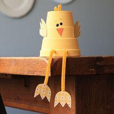 Foam Cup Chick, Craft, Easter, knutselen, kinderen, basisschool, Pasen, kuiken, papieren beker