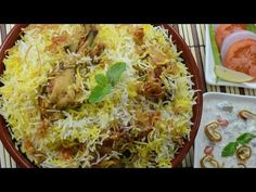"""Chicken Recipes Hd : Chicken Biryani HD - In Hindi - Chicken Recipes Hd Video Chicken Recipes Hd Video Rating: / 5 This video on this page is automatically generated content related to """"chicken recipes hd"""". Leftover Chicken Recipes, Best Chicken Recipes, Meat Recipes, Indian Food Recipes, Asian Recipes, Cooking Recipes, Ethnic Recipes, Dum Biryani, Asian Food Recipes"""