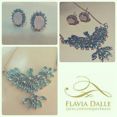 #colar #necklace #brincos #earings #pedras #zircônias #zirconiascoloridas