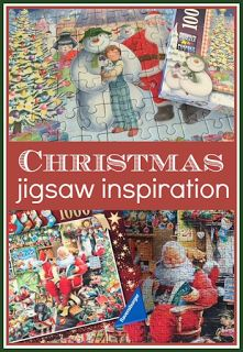 Jennifer's Little World blog - Parenting, craft and travel: Some Christmas jigsaw puzzle inspiration