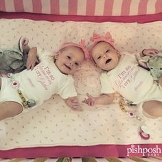 We are going crazy, CRAZY, I tell you, over @esmoerman's adorable twin girls wearing our onesies! Tag your own cuties with #PPBkids and we might pick them for our next feature!