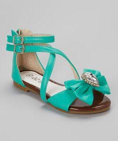 http://www.zulily.com/invite/vhanson979 Loving this Mint Crisscross Julia Sandal on #zulily! #zulilyfinds