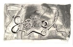 """Tick Tock Oil the Clock"" by 9th grader, Samantha C.  Vote for your favorite Google Doodle!"