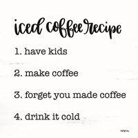Framed Iced Coffee Recipe