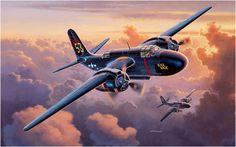 "Lockheed P-70 Nighthawk ""Black Magic"""