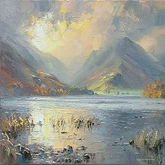 October Sunrise, Buttermere by Rex Preston