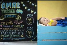 Sesión 2 meses bebé Baby photography