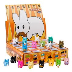 Kozik x Kidrobot - Mini Happy Labbit
