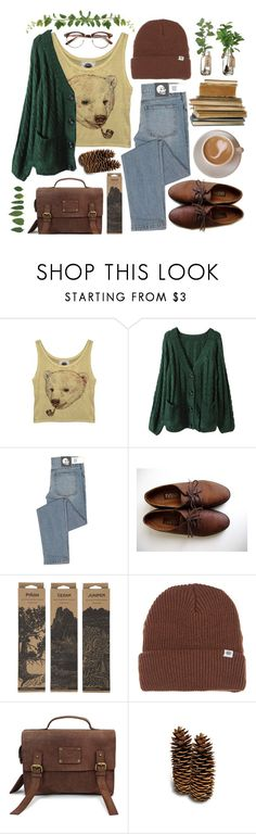 """Plateau Ramble"" by throwmeadream ❤ liked on Polyvore featuring Cheap Monday, Oxford, Jayson Home, Deus ex Machina and O My Bag"