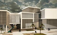 Konak Belediyesi Hizmet Binası Yarışma Projesi Architectural Competition Project