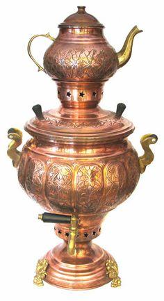 its name is semaver.  Tea time - Turkey