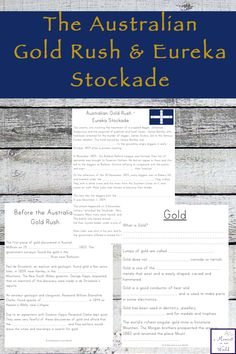 This is a mini unit study on the Australian Gold Rush and the Eureka Stockade together, an important part of Australian History. Eureka Stockade, Political Beliefs, History For Kids, Study Ideas, Gold Rush, Home Schooling, Teaching Tips, Simple Living, Lesson Plans