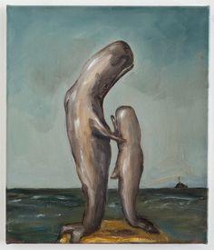 Joanna Braithwaite Untitled- oil on canvas, 2013 Whale Art, New Zealand, Surrealism, Oil On Canvas, Contemporary Art, Art Gallery, Landscape, Painting, Art