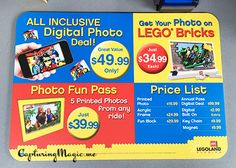 Digital Photo Deal at Legoland Florida - details and tips