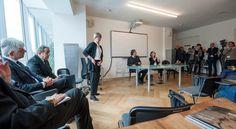 La tavola rotonda con architetti e posatori #design #parquet