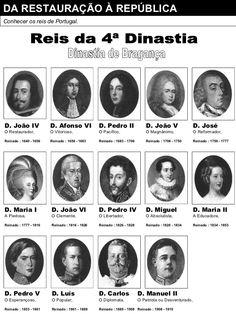 REIS DA 4ª DINASTIA - PORTUGAL Portuguese Empire, My King, Tatoos, Photo Wall, History, Movie Posters, Conquistador, Oscar Wilde, Counting