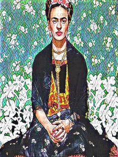 MOSAIC FRIDA KAHLO Fabric Block Sewing Quilt by FRIDAKAHLOFABRIC  MOSAIC FRIDA KAHLO Fabric Block Sewing Quilt Applique #frida #fridaart #art #fridakahlo #alteredart #mexicanart #mexican #mexico #mexicanartist #paintings #paintingartist #flamboyant #fridakahloart #vivalafrida Frida Kahlo Fabric, Frida Art, Mexico, Mexican Artists, Artist Painting, Sewing, Altered Art, Mosaic, Applique