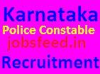 Karnataka Civil Police Constable Recruitment 2014 KSP Notified Online Application