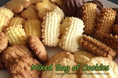 Mixed bag of South African cookies.  Wonderful and tasty.