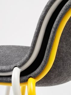 LJ 2 Chair by De Vorm. Made of recycled PET bottles.  Learn more: www.devorm.nl/products/lj2