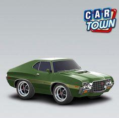 ¡Vuelve el Gran Torino 1972! Este auto no necesita presentaciones, especialmente después de haber participado de una película de suceso. ¡El stock es limitado, agarra el tuyo mientras puede! 21/03/2013