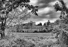 View of the Santuario degli Angeli from the Parco Fluviale in Cuneo  #cities #piemonte #italy #provinciadicuneo