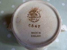 Back Stamp of pattern C547