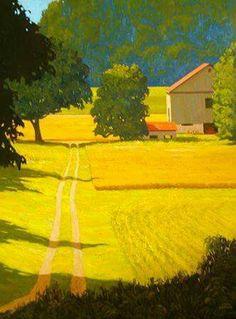 Artwork by Adam Noonan, Canadian 'plein air' painter Landscape Art, Landscape Paintings, Canada Landscape, Wow Art, Canadian Artists, Oeuvre D'art, Scenery, Art Gallery, Illustrations
