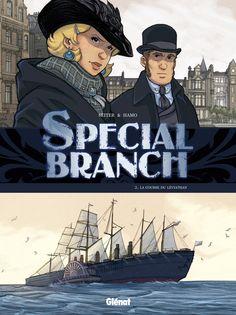 Special branch coffret tome 1 à tome 3 : Roger Seiter, Hamo - BD