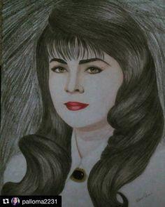 regram @vickyruffoweb #Repost @palloma2231  My queen GRACIAS A @palloma2231 por compartirnos su arte @victoriaruffo