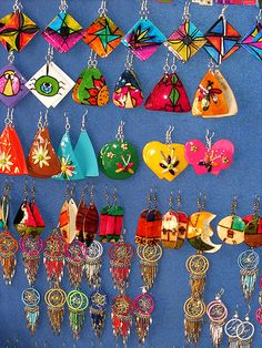 Is this heaven? Colombian People, International Craft, Colombia South America, Love Is Everything, New Museum, Tropical Colors, Wall Street Journal, Cute Crafts, Clay Earrings