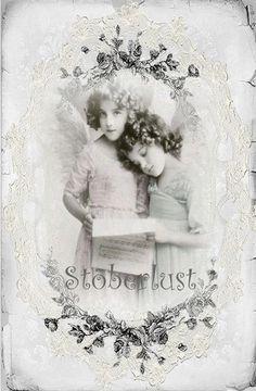 Nostalgiemotive - shabby lace and angel chorus -Engel Spitze1,10 € - ein…