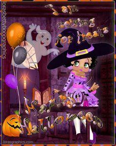 ☮ * ° ♥ ˚ℒℴѵℯ cjf Betty Boop Doll, Betty Boop Halloween, Snoopy Halloween, Halloween Magic, Easy Halloween Crafts, Happy Halloween, Imagenes Betty Boop, Betty Boop Birthday, Mom I Miss You