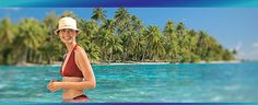 Join Paul Gauguin Cruises in the Caribbean Aboard Their Brand-New Ship - Click on the image for more information about the destination or contact us at 1-888-700-TRIP.