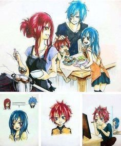 fairy tail pregnant erza - Google Search