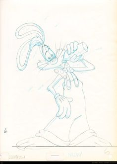 Who Framed Roger Rabbit: 100 Original Concept Art Collection - Daily Art, Movie Art